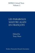 Les Paraboles Maistre Alain En Francoys