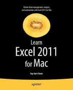Learn Excel 2011 for Mac