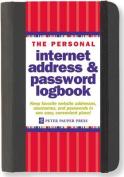 The Personal Internet Address & Password Organizer
