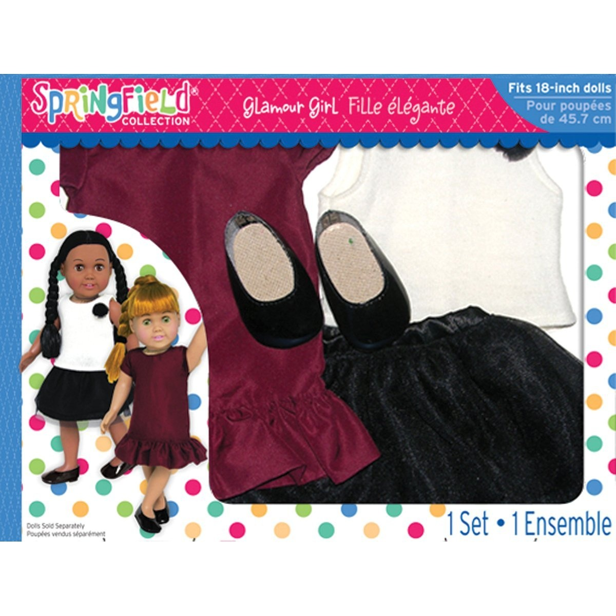 Fibre craft springfield collection glamour girl set for Fibre craft 18 inch doll