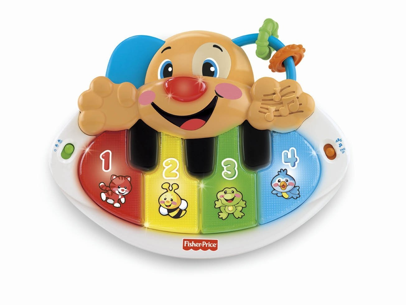 Fisher Price Learning Toys : Fisher price laugh learn puppy s piano street