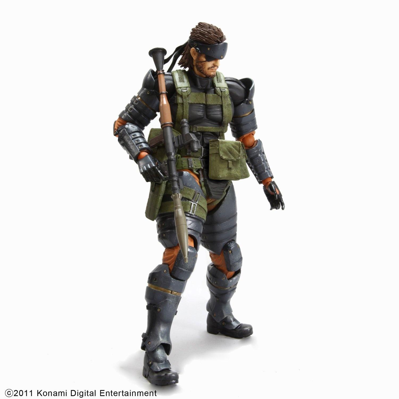 3 X Square Enix Metal Gear Solid Peace Walker Play Arts Kai Volume 4 Snake Battl
