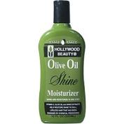 HOLLYWOOD BEAUTY Olive Oil Shine Moisturiser Shine and Moisturiser in One Step 12oz/355ml