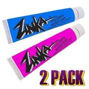 Zinka Coloured Sunblock Zinc Nosecoat 2 Pack Bundle - Blue Pink