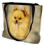 Pomeranian Tote Bag - 17 x 17 Tote Bag