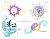 Glitter Mystic Karma Temporary Tattoos