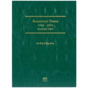 Roosevelt Dime Folder -1965-2003 Volume 2