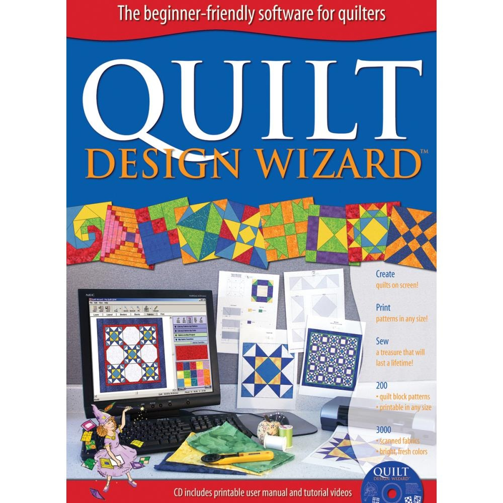 The-Electric-Quilt-Co-Quilt-Design-Wizard-Shipping-Included