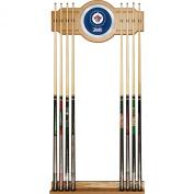 NHL Winnipeg Jets 2-Piece Wood and Mirror Wall Cue Rack
