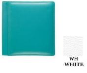 Raika WH 102 WHITE 10.2cm x 15.2cm Single Pages Photo Album - White