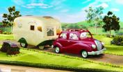 Sylvanian Caravan & Family Car