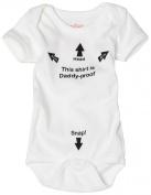 Sara Kety Unisex-baby Newborn Daddyproof Bodysuit