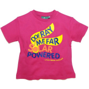 Little Green Radicals organic Fairtrade cotton Doe Ray Me Far Solar Powered T-shirts
