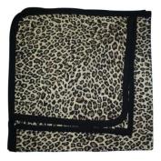 BabywearUK Leopard print Baby Blanket - British Made