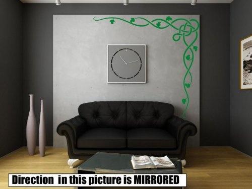 Celtic-Vine-Corner-Giant-Wall-Sticker-Giant-200cm-x-200cm-Best-Price