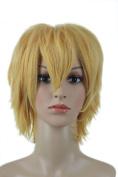 Anangelhair +Free Hair Cap Amnesia Toma Cloud Strife Naruto Namikaze Minato Usui Takumi Cosplay Wig