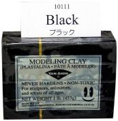 Van Aaken Modelling Clay 1Lb Black