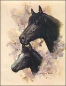 Horse Portrait III Paper Tole 3D Kit 8x10