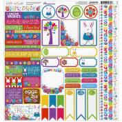 Reminisce Happy Easter 12x12 Variety Sticker