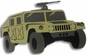 Army & Marines Laser Cut Equipment - Humvee / Green