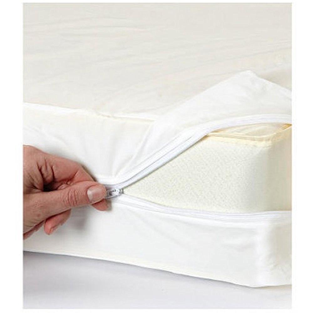 queen size vinyl zippered mattress cover protector allergy dust bug waterproof 11street. Black Bedroom Furniture Sets. Home Design Ideas