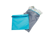 J.L. Childress Wet Bag, Teal/Grey, 2 Count