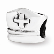 Sterling Silver Reflections Nurse Hat Bead
