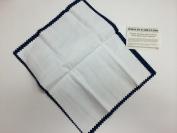 Blitz Jewellery Rouge Cloth / Polishing Cloth 25cm x 30cm Blue/ White