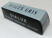 DIALUX grey POLISHING COMPOUND ROUGE DIALUX GRIS STAINLESS STEEL GREY POLISH BAR