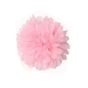 Saitec ® 12PCS Mixed Sizes Light pink Tissue Paper Flower Pom Poms Pompoms Wedding Birthday Party Nursery Decoration