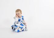 Cozibug Baby Cozi Sac, Blue, Small (3-12m), Blue