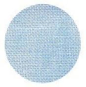 Zweigart 14ct Vintage Aida-46cm x 50cm Needlework Fabric - Blue Whisper