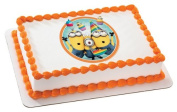 Despicable Me 2 Minions Birthday Edible Image Cake Topper Frosting Sheet