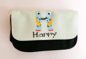 Boys monster personalised pencil case