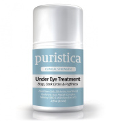 Under Eye Gel Treatment Cream for Puffy Eyes, Dark Circles, Bags and Wrinkles - Puristica 15 ML
