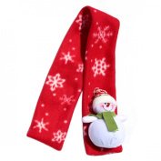 Malloom® 1 PC Christmas Santa Claus Warm Children Scarf Accessory Decoration Home