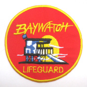 Baywatch Lifeguard TV Series Sew Ironed Patch Badge Embroidery BE-01