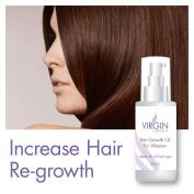 VIRGIN FOR WOMEN HAIR GROWTH OIL THICKER ANTI DANDRUFF GLOSSY