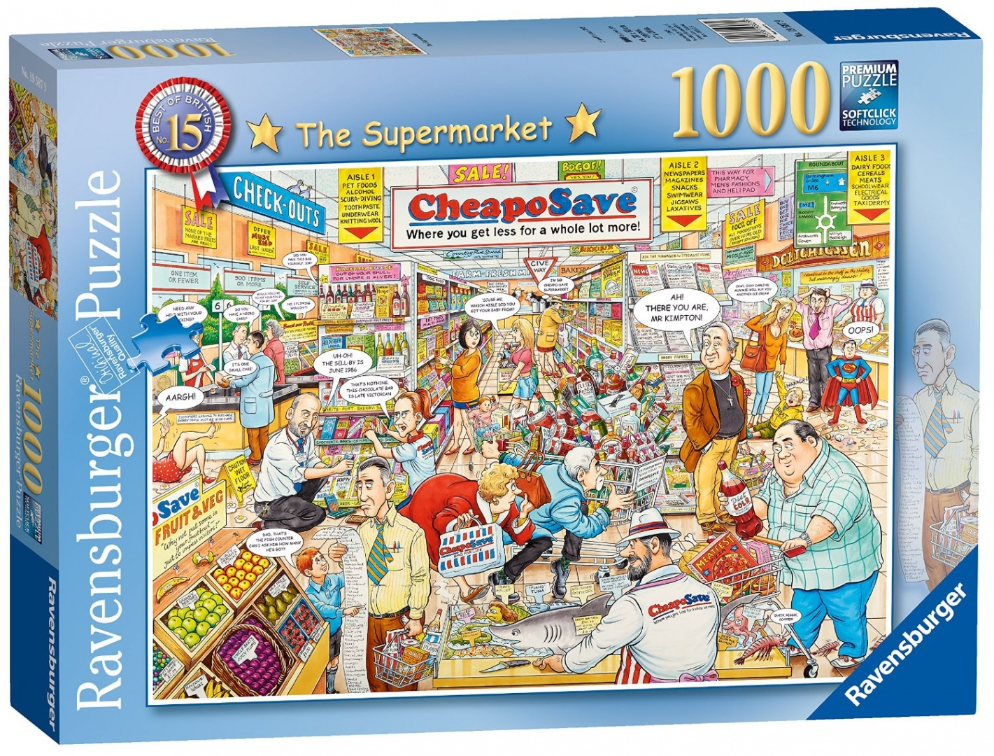 Ravensburger-Best-of-British-No-15-The-Supermarket-1000pc-Jigsaw-Puzzle-Shi