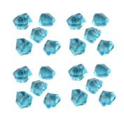 GASOE 500g - 250pcs Clear Translucent Acrylic Gems, Ice Rocks, for Table Scatter, Vase Filler, Aquarium Decor