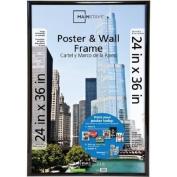 Mainstays 24x36 Trendsetter Poster & Picture Frame, Black