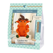 Go Handmade Jonas The Dragon 22cm Crochet Needlework Kit, All Parts & Materials Included!