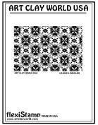 FlexiStamps Texture Sheet Leaves & Circles Positive Design - 1 pc.