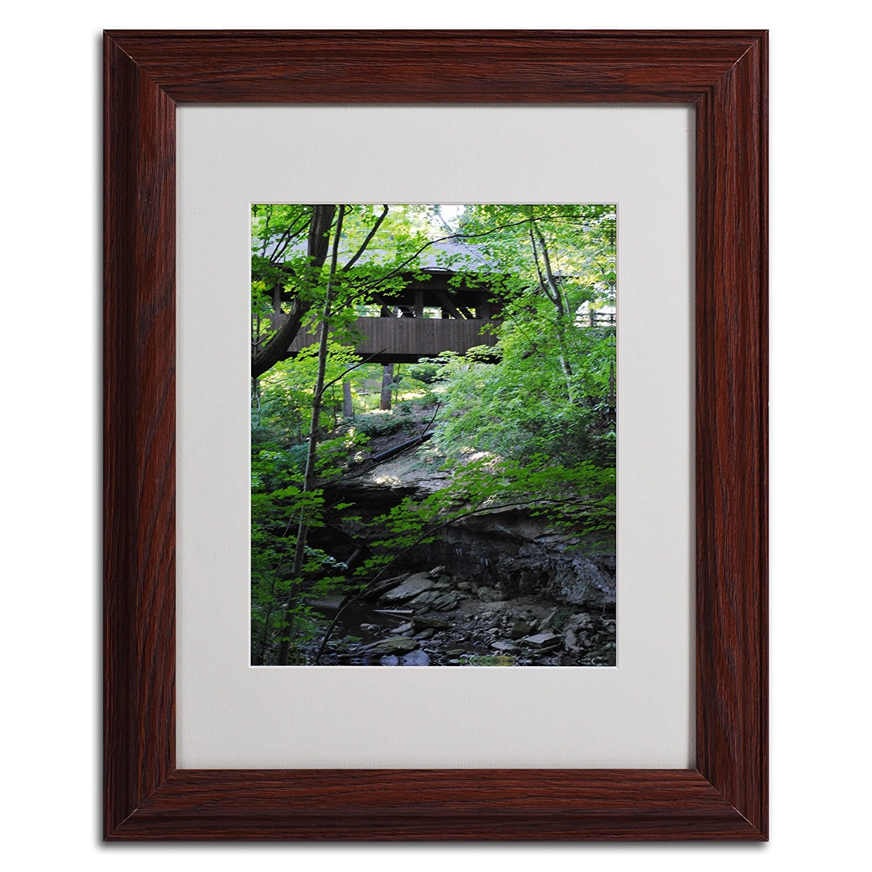 Trademark-Fine-Art-Latent-Bridge-by-Monica-Fleet-Wood-Frame-28cm-by-36cm-Ship