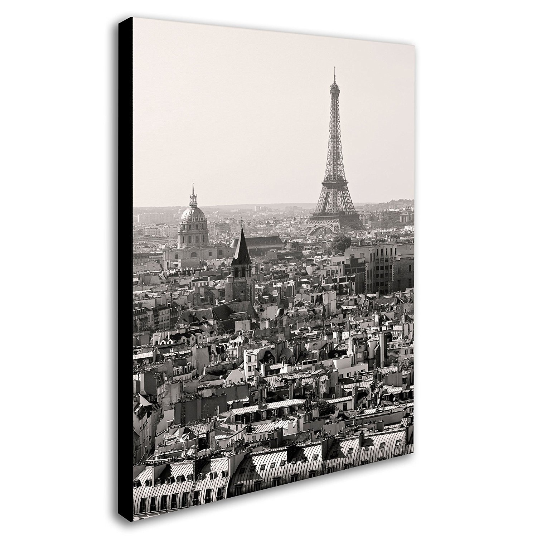Trademark-Fine-Art-Paris-by-Pierre-Leclerc-Canvas-Wall-Artwork-36cm-by-48cm-Be