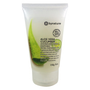 Bynature Aloe Vera Cucumber Face Wash Cleanser Vitamin C Refresh Skin UV Protection Paraben Free No SLS NO SLE