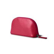 Lucrin - Makeup Bag (6.3 x 8.4cm x 5.3cm ) - Fuchsia - Goat Leather