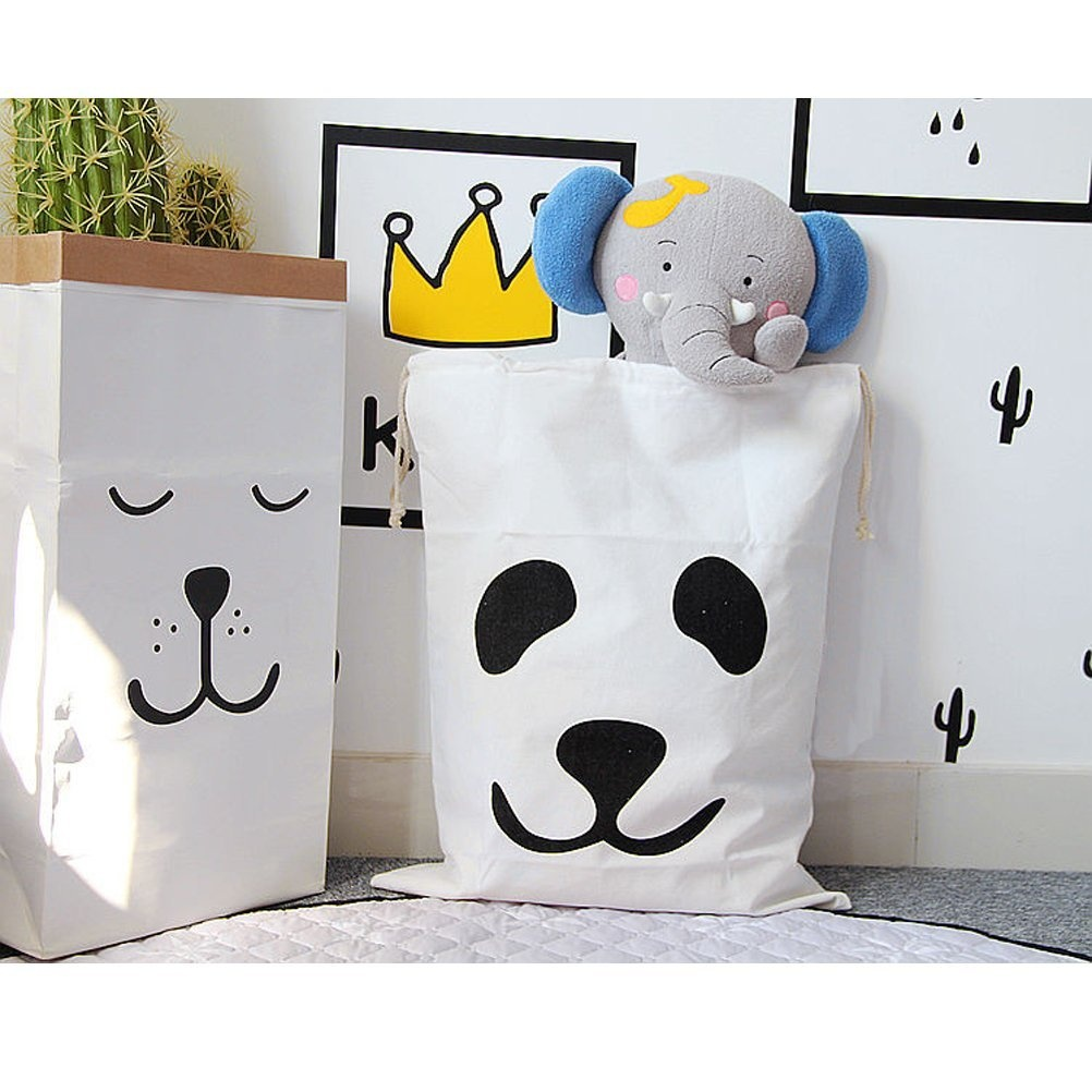 Baby Gift Hamper Malaysia : Canvas storage bag basket organisers for kids toys baby