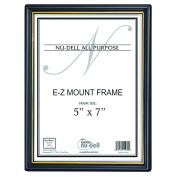 13cm x 18cm EZ Mount Document Frame Plastic Face, Black