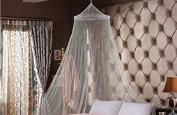 DmsBanga 1 Pcs Opening Mosquito Net Girl Boy Baby Infant Kid Toddler For Bed Crib Canopy Netting Set White 60280850 Cm